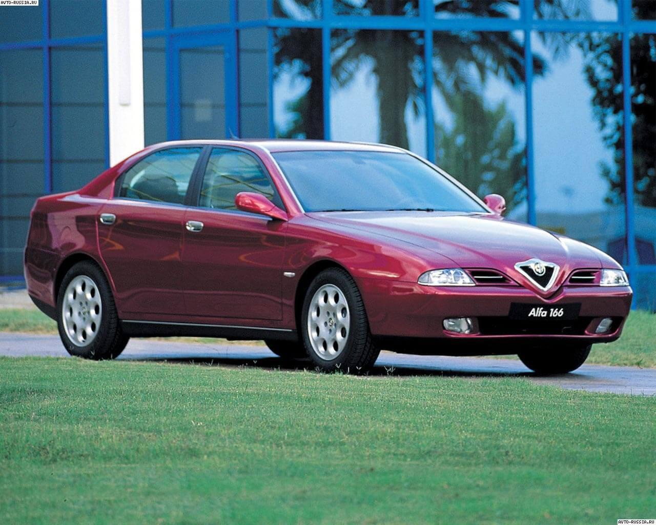 ...характеристики Alfa Romeo 166 / Альфа Ромео 166...