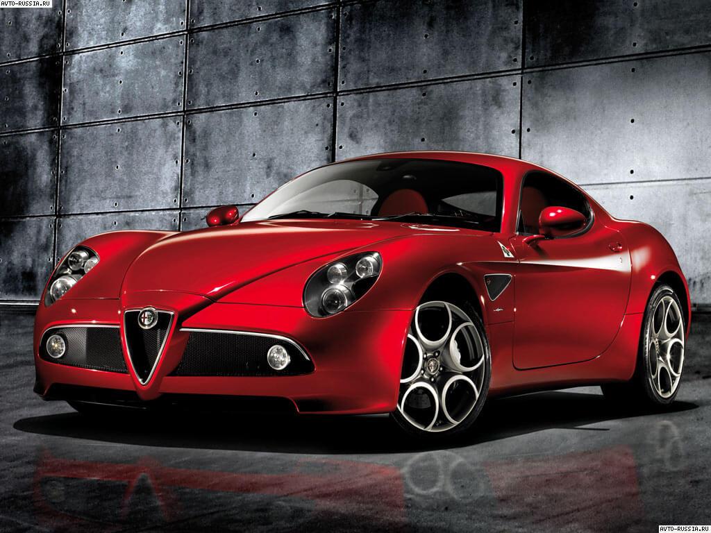Alfa Romeo Бордовая  № 2426487 загрузить