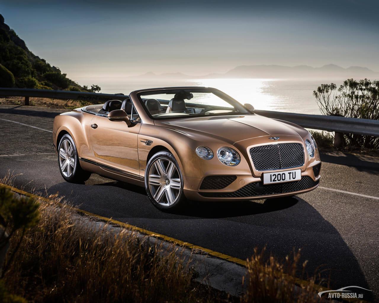 Bentley Continental Gtc цена технические характеристики фото отзывы дилеры Бентли