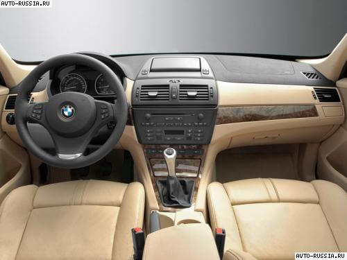 X3.  BMW X3 лишают полного привода.