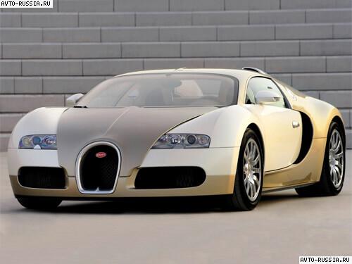 Автомобиль bugatti veyron