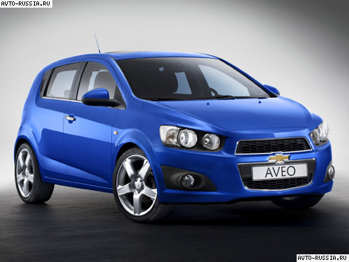 Автомобиль chevrolet aveo hatchback