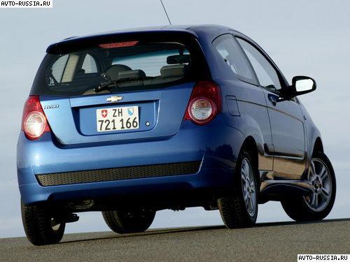 Автомобиль chevrolet aveo hatchback i