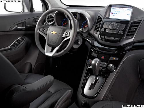Chevrolet orlando for Chevrolet interieur