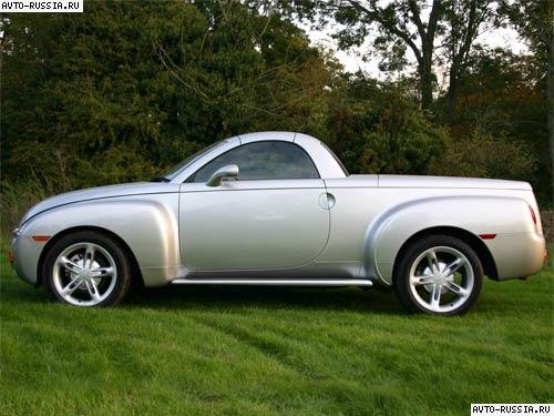 Характиристики автомобиля Chevrolet Ssr: SSR, модификации 6.0 i V8 (390...