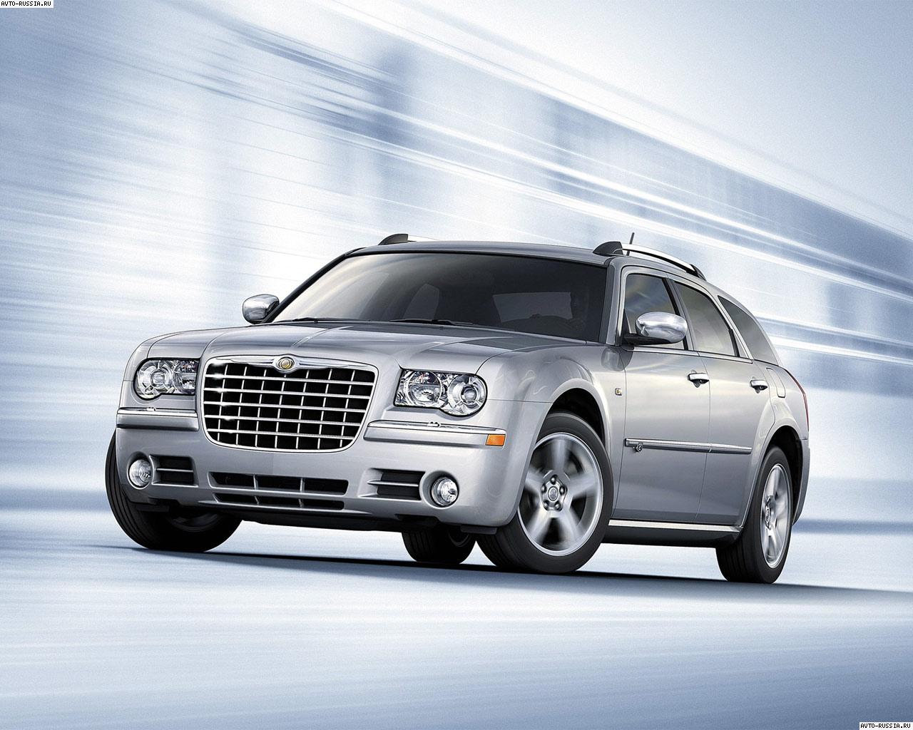 Chrysler 300c touring as a tow car #2
