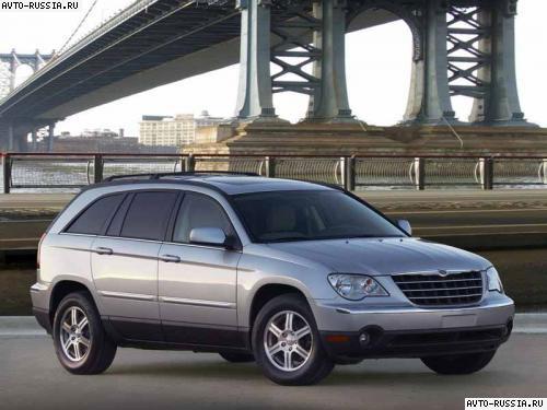 Chrysler pacifica 2005 mpg