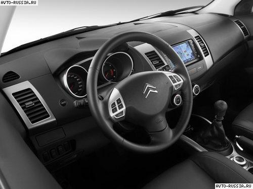 Технические характеристики Citroen C-Crosser / Ситроен