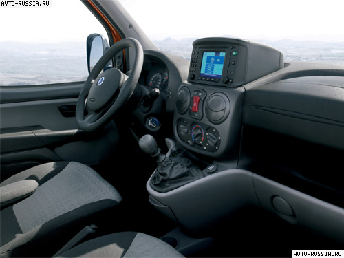 Fiat doblo panorama for Fiat doblo interieur