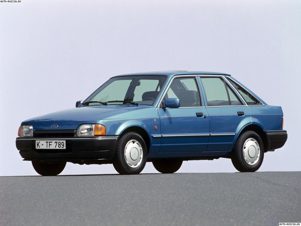 Технические характеристики Ford Escort (Форд Эскорт)