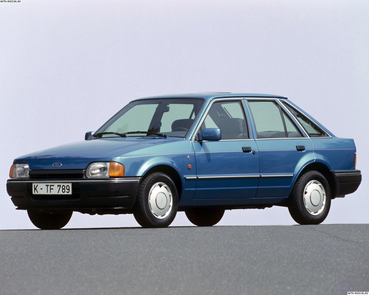 ford escort поколение марки