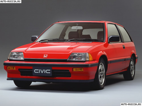 honda civic 1987 отзывы