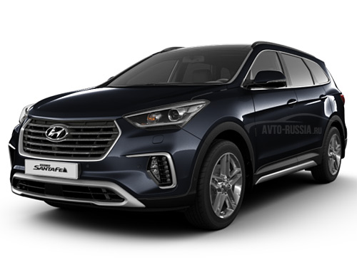 Hyundai Santa Fe: цена, технические характеристики, фото ...