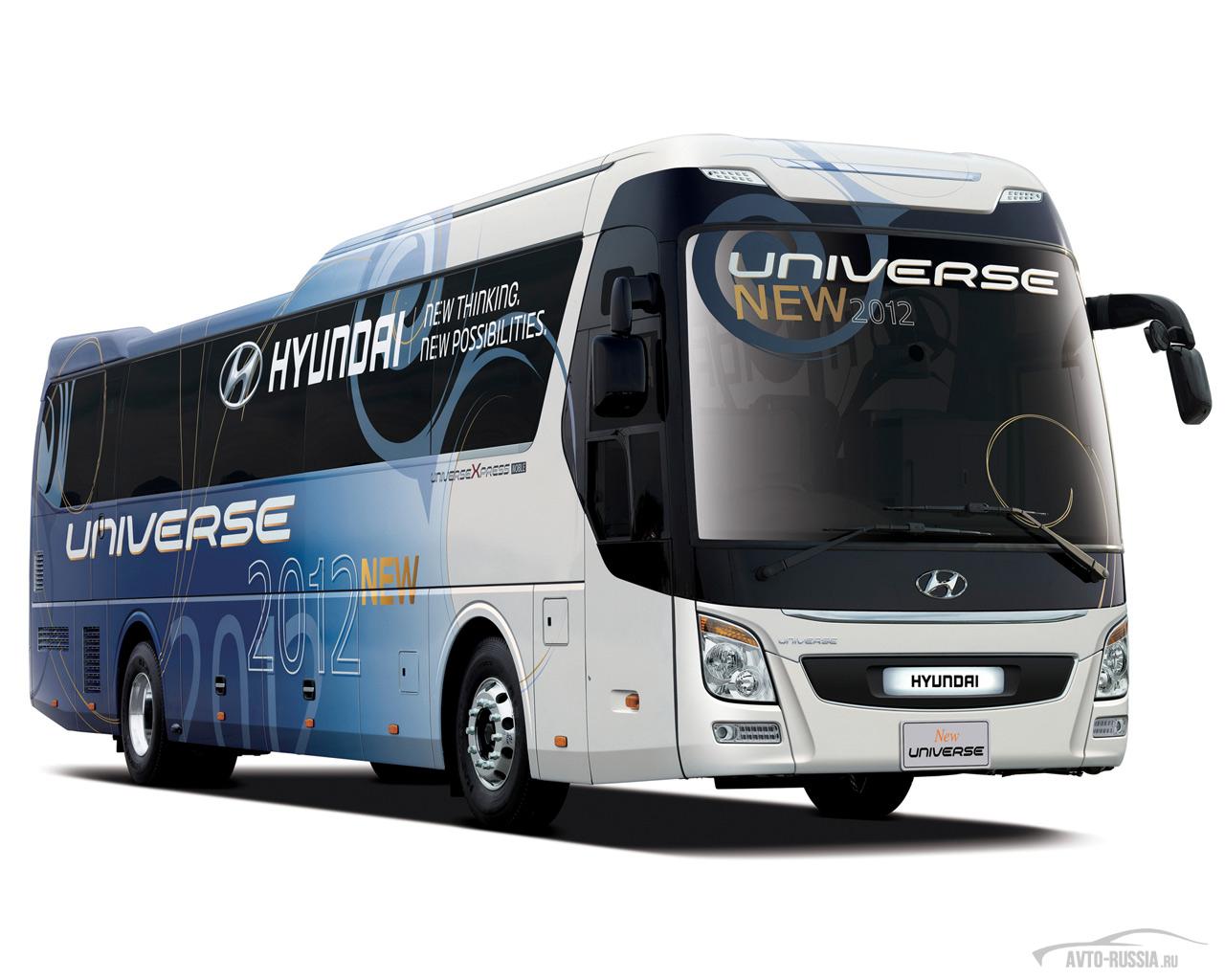 дооборудование автобуса на hyundai universe