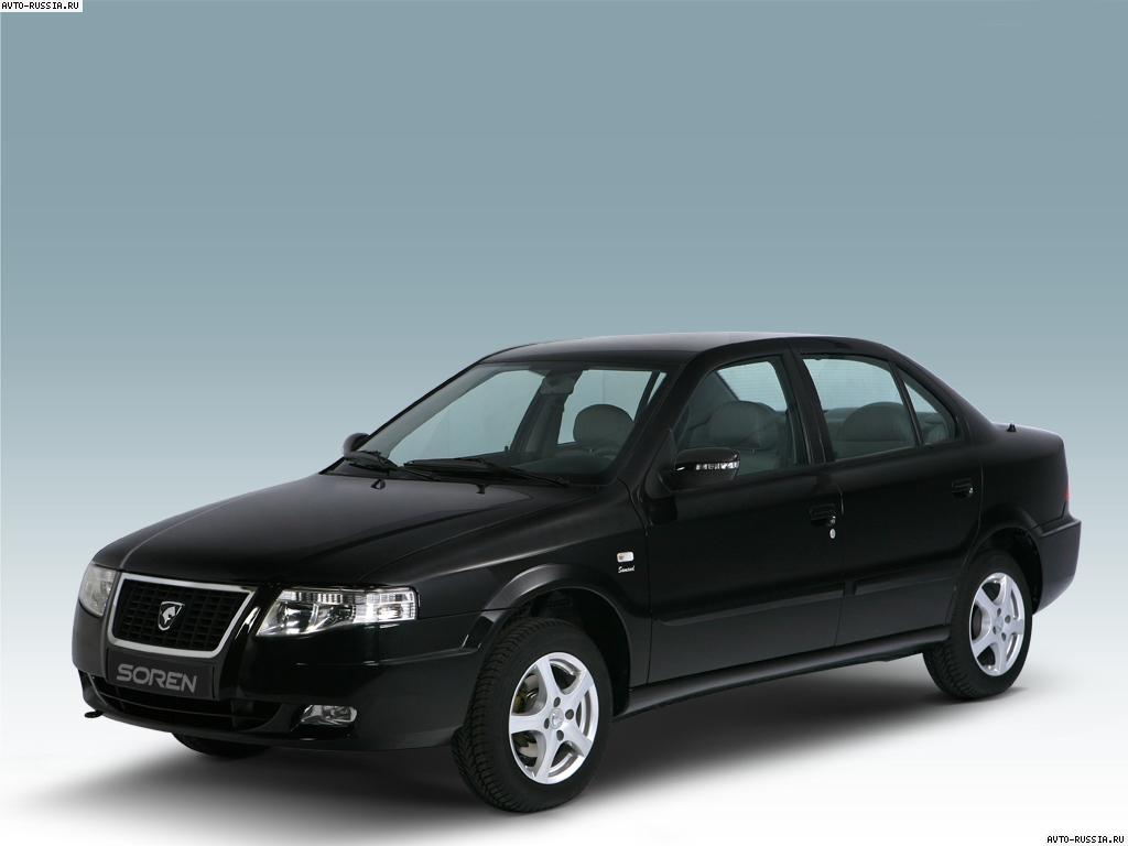 Автомобиль ikco soren