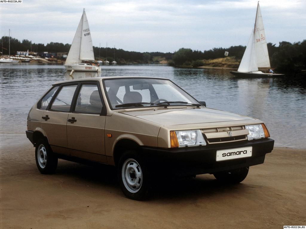 Поколения автомобилей ВАЗ 2109.