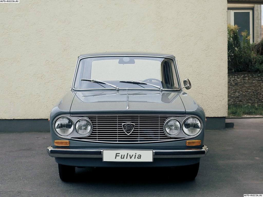 Обои Lancia Fulvia 1024x768