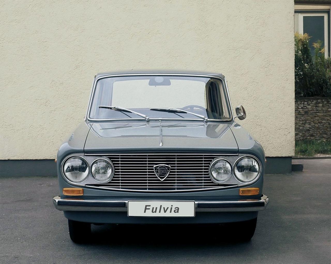 Обои Lancia Fulvia 1280x1024