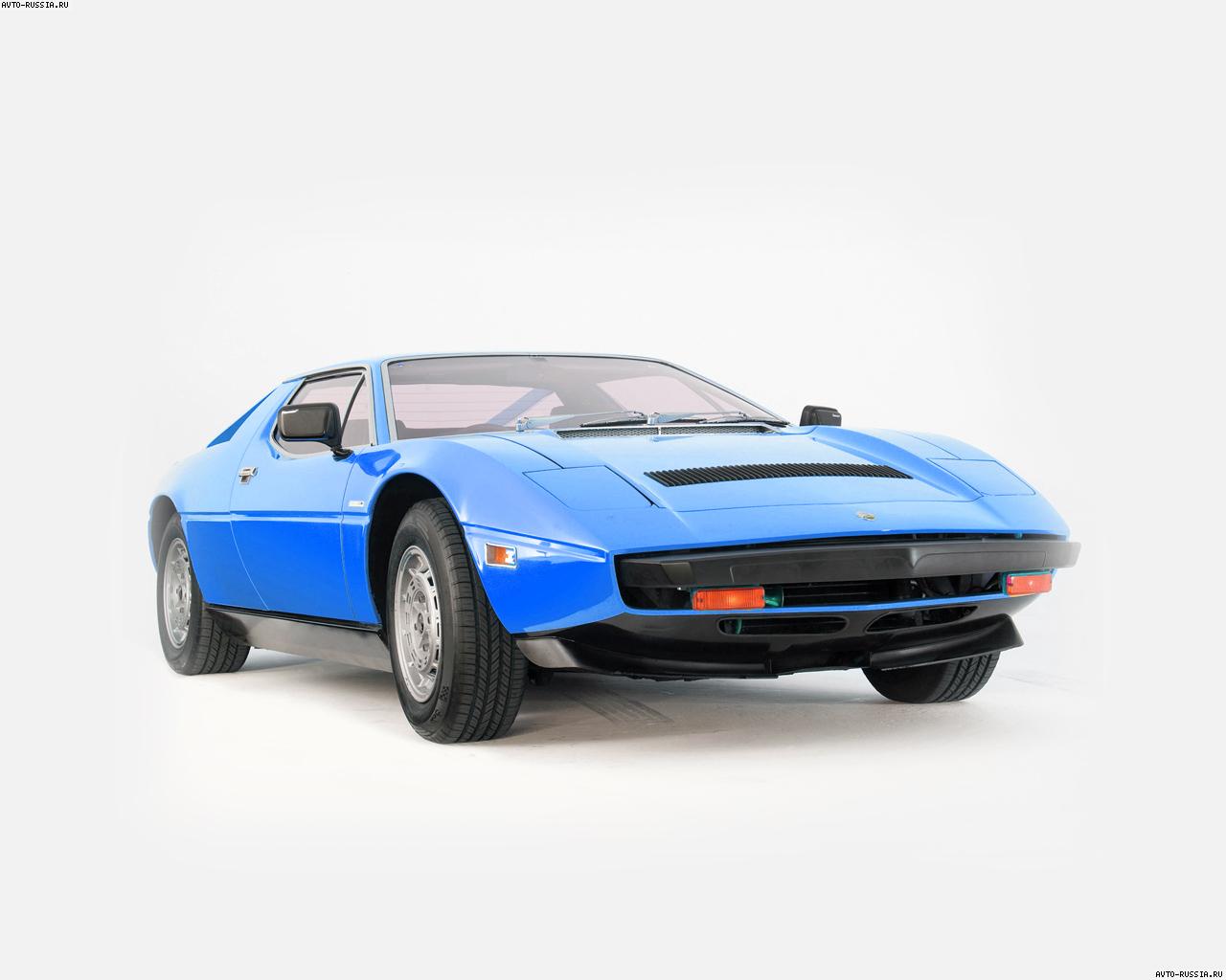 Обои Maserati Merak 1280x1024