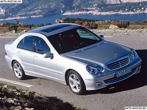 2003 г mercedes-benz c-klasse ll w203 хэтчбек.