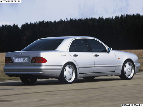 Mercedes E Class W210 цена технические характеристики