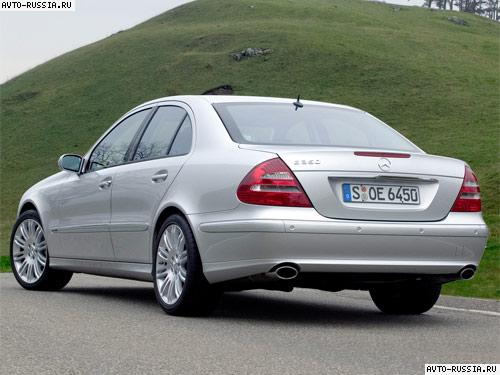 Mercedes E-class W211: цена, технические характеристики, фото ...