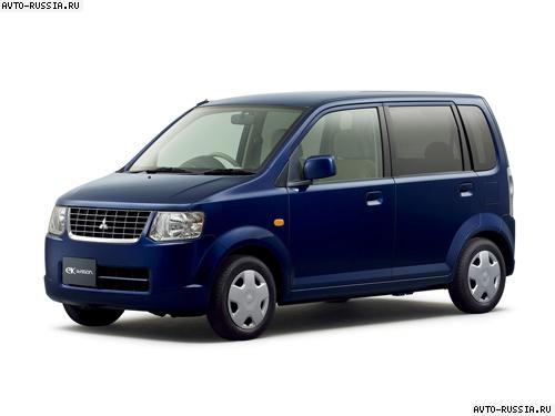 mitsubishi ek wagon 2003 клиренс
