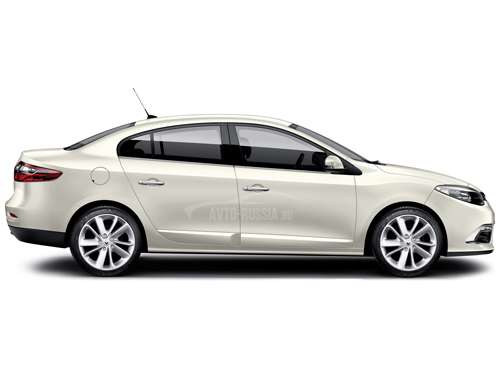 renault fluence 2/0 mt 2014 седан otzivi