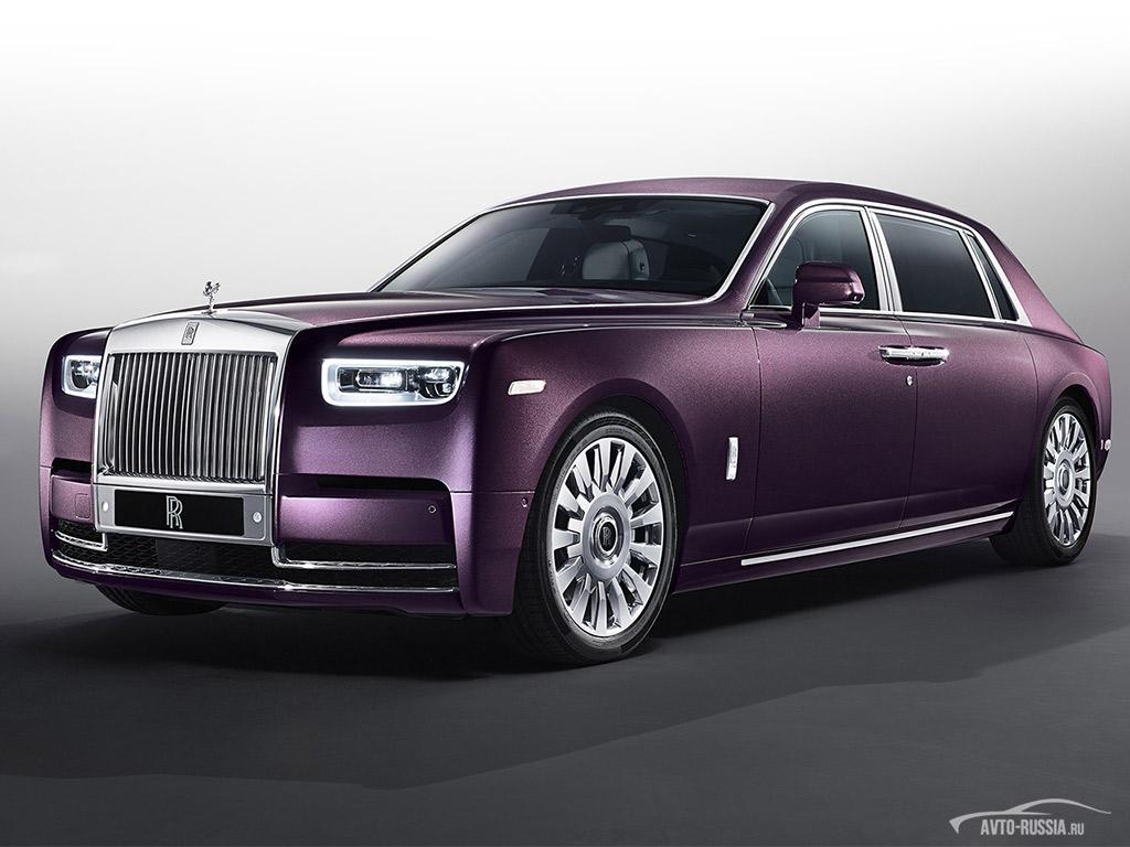Автомобиль rolls royce phantom