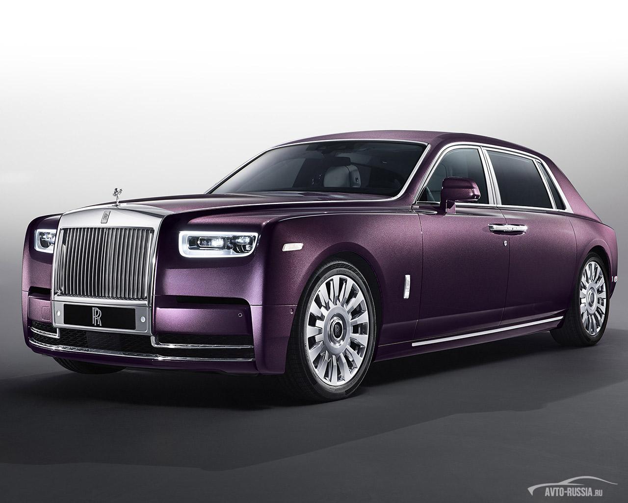 Rolls Royce Phantom цена технические характеристики