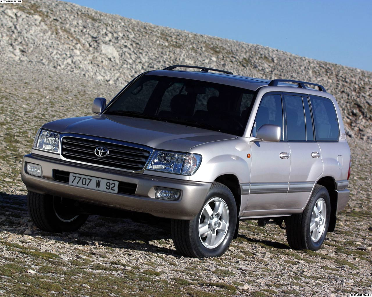 ���������� Toyota Land Cruiser 100, ������� ����������� ...