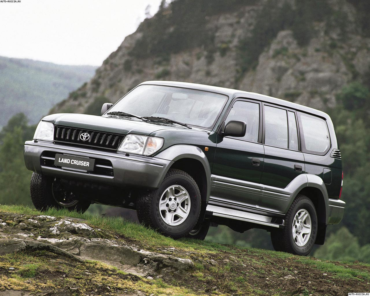 toyota land cruiser 90 фото