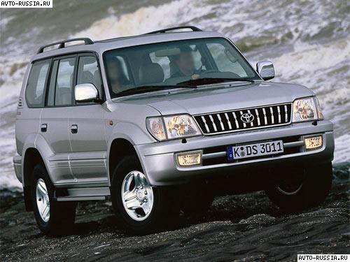 Автомобиль toyota land cruiser prado 90