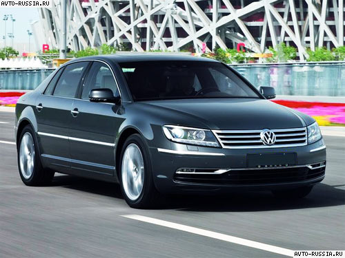 Volkswagen phaeton фото 10