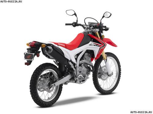 мотоцикл honda crf250l отзывы