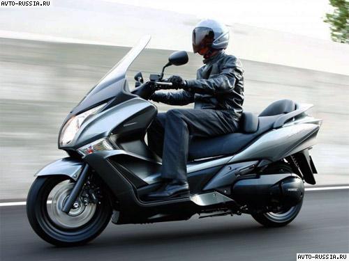 скутер honda silver 400 отзывы