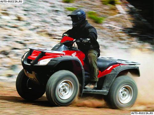honda trx680fa максимальная скорость