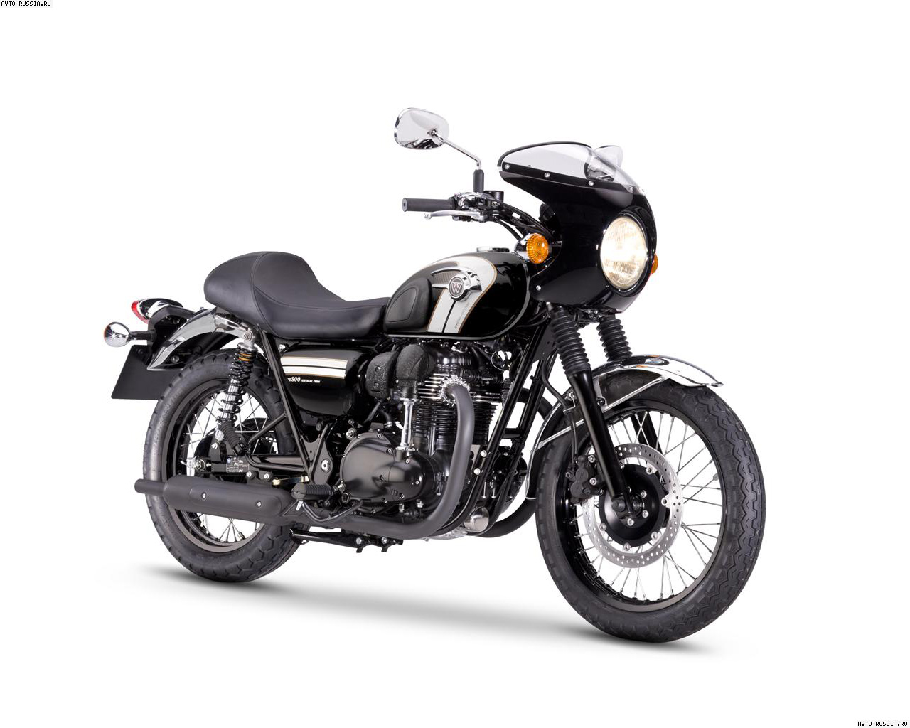мотоцикл kawasaki w800 black edition 2015 цена