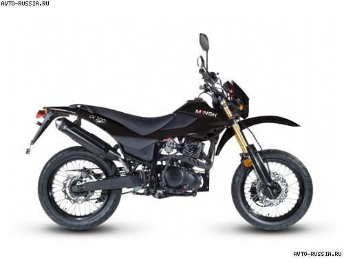 Мотоцикл minsk cx 200