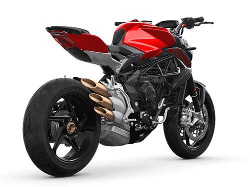 Мотоцикл mv agusta brutale 800