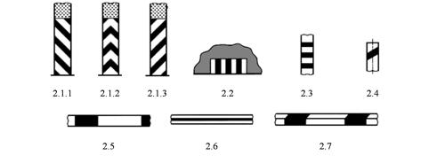 Вертикальная разметка